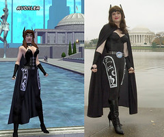 Avonlea (rgaines) Tags: halloween drag costume cosplay cityofheroes coh jeffersonmemorial avonlea crossplay