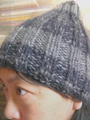 [handmade] 手織栗子毛線帽
