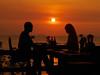a romantic dinner (AraiGodai) Tags: sunset beach dinner thailand interesting explore pattaya araigordai raigordai araigodai