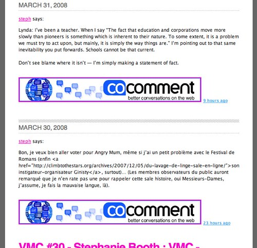 Steph's Tumblr - rude cocomment