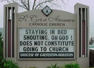 Funny Church Signs by au_tiger01