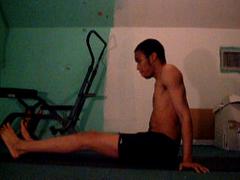 One Leg (YogiOdie) Tags: yoga stretch stretching contortion bendy flexibility flexible stretchy limber frontbend legbehindhead