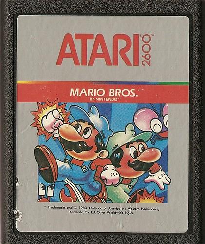 Mario Bros. Atari Cart