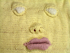Face pullover (Detail)