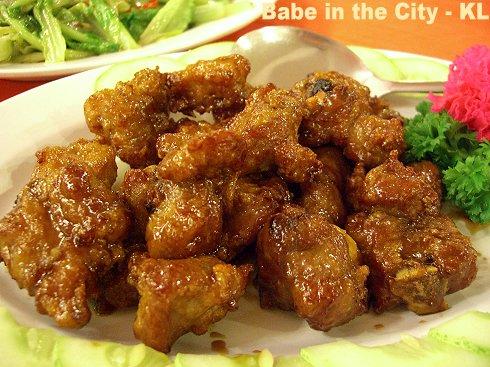 SL - marmite pork ribs