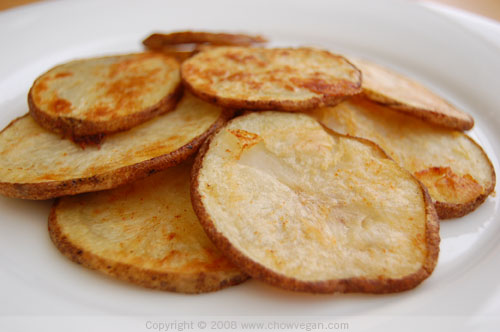 Spicy Baked Potato Chips