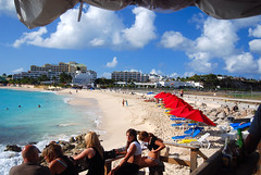 The Sunset Beach Bar (HawkeyePilot (limited Flickr time)) Tags: stmaarten mahobeach sunsetbeachbar dsc4242 anawesomeshot dutchwestindies flickrgolfclub
