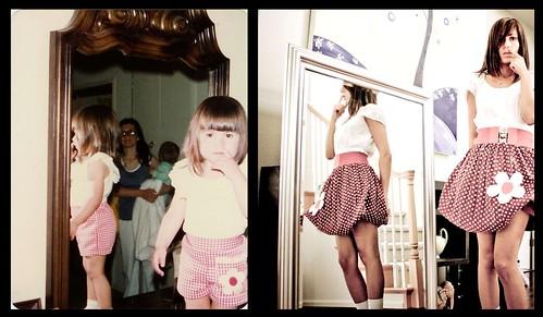 Yo antes, yo ahora espejo