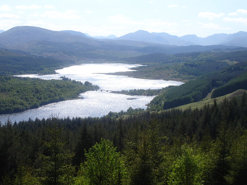 The Scotland-shaped Loch Alsh.