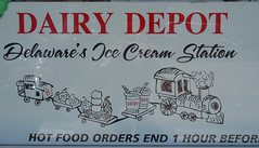 Dairy Depot Sign