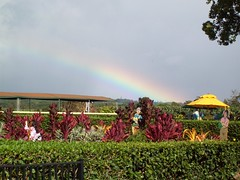 A rainbow at the Dole Pineapple Plantation (pipefiddle) Tags: hawaii rainbow