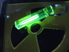 tritium - light from radioluminescence ( bionerd ) Tags: decay beta gas phosphorous radioactive radioactivity bomb atom luminescence hydrogen phosphorescence radioaktiv tritium radioluminescence