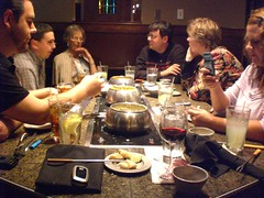 The Gang at the Melting Pot