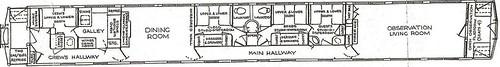 Private Rail Car - Virginia City plan