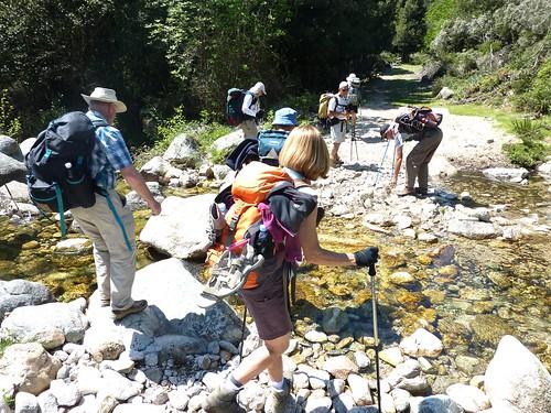 Traversée de la Tavulella vers les bergeries de Bartoli