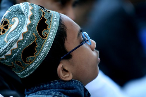 Prayers at the Eid ul Fitr in New York