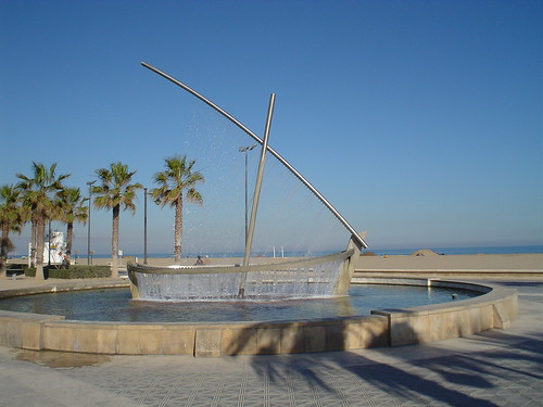 Escultura de agua