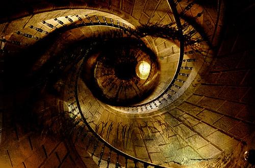 spiral eye by aldo mascato.