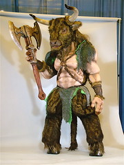 BALTICON_Minotaur (catface3) Tags: costume furry horns bull fantasy convention axe warrior sciencefiction greekmythology chainmail minotaur hooves balticon halfgod catface3