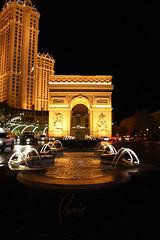 Las Vegas' Arc de Triomphe (Nas) Tags: las vegas paris lasvegas arcdetriomphe parishotel
