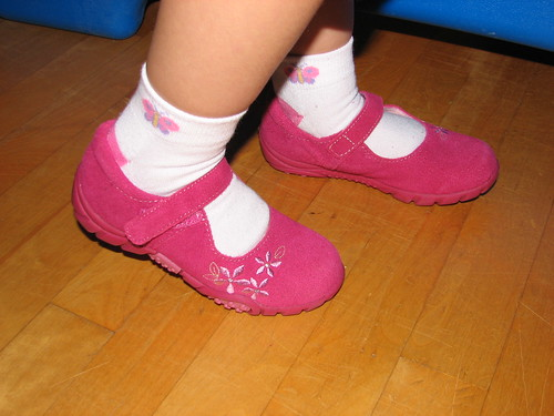 They didn't make cute shoes like these when I was a kid