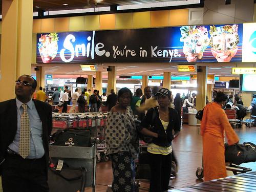 Smile, You're in Kenya.