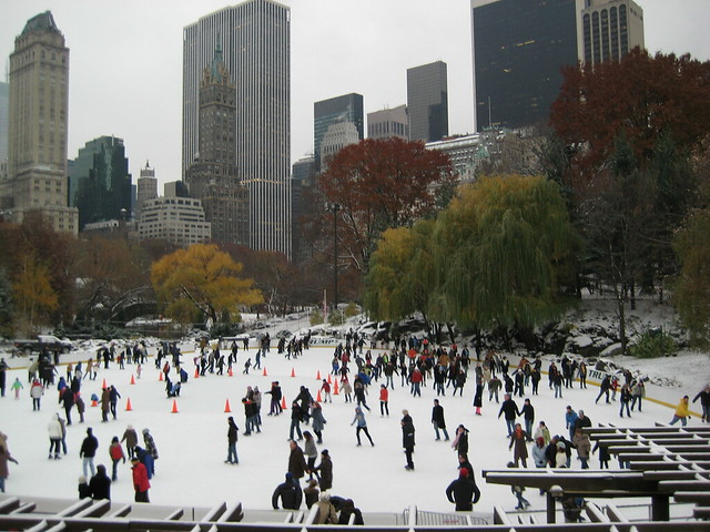 #1 of Outdoor Ice Rinks Around The World