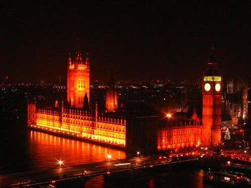 London - Westminster at night 2