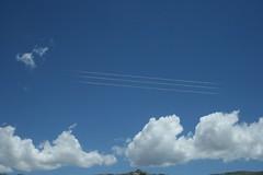 lineas en cielo (Analía Acerbo Arte) Tags: sky nubes lineas efecto pentagrama renglones