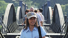 Girl on the river Kwai