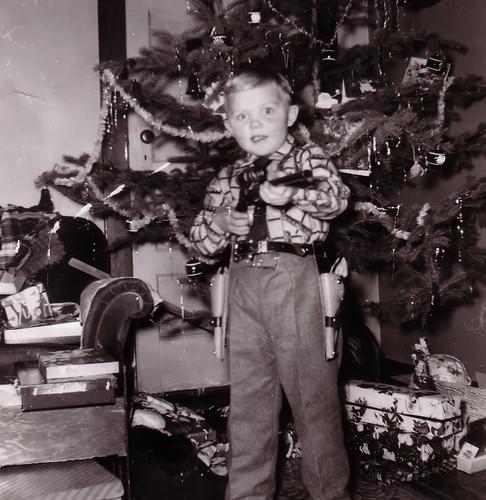 My Dad - 1950's Cowboy Christmas