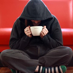 365.37 (splityarn) Tags: selfportrait me coffee earlyriser 365days thecoffeecupeverybodyloves