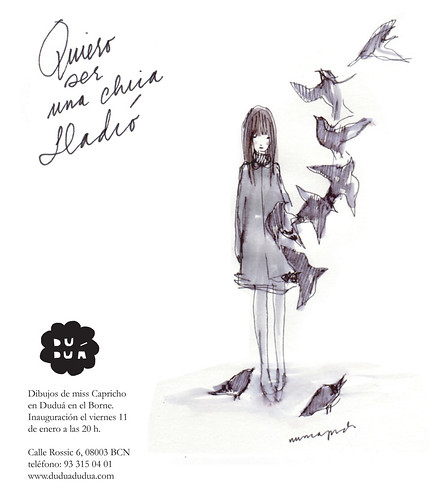 """""""Quiero ser una chica LLadró"""" expo de Miss Capricho en Duduá"""