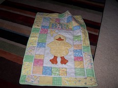 Baby Quilt - Duck Cole