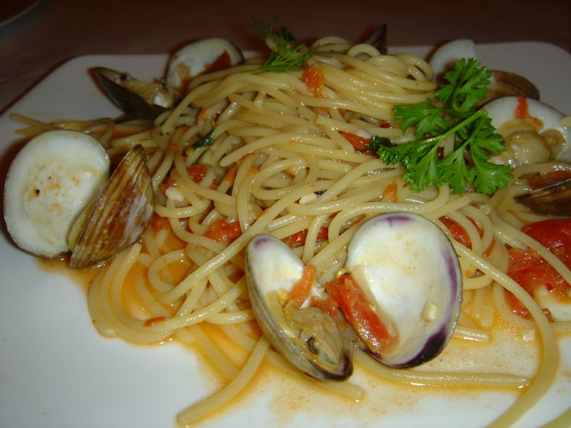 Clams Spaghetti
