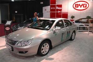 BYD auto chinese hybrid car