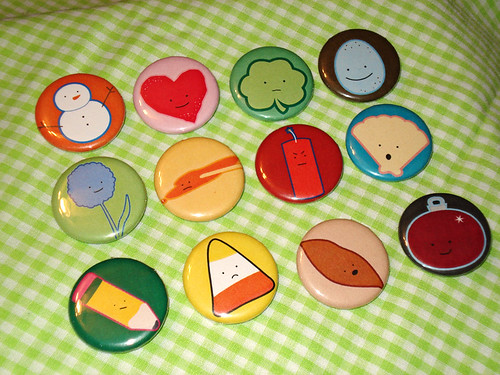 Characteristics Buttons
