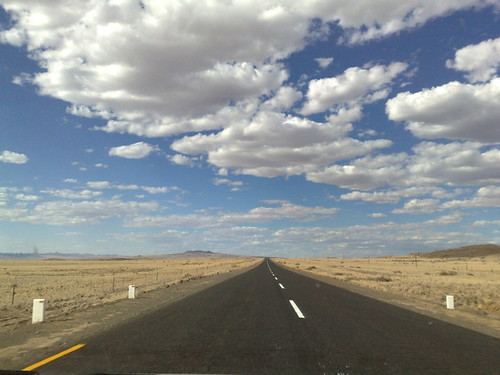 On The B1 Highway, Just After The Border, Namibia by Mandy J Watson, on Flickr