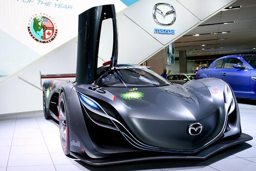 Фотки концепт-кара Mazda Furai 2008