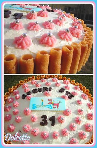mix torta lamponi farcita