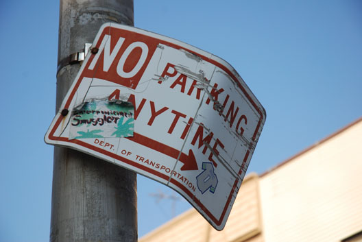 Say What--No Parking Anytime