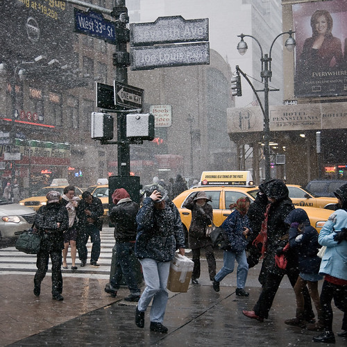 blizzard in midtown