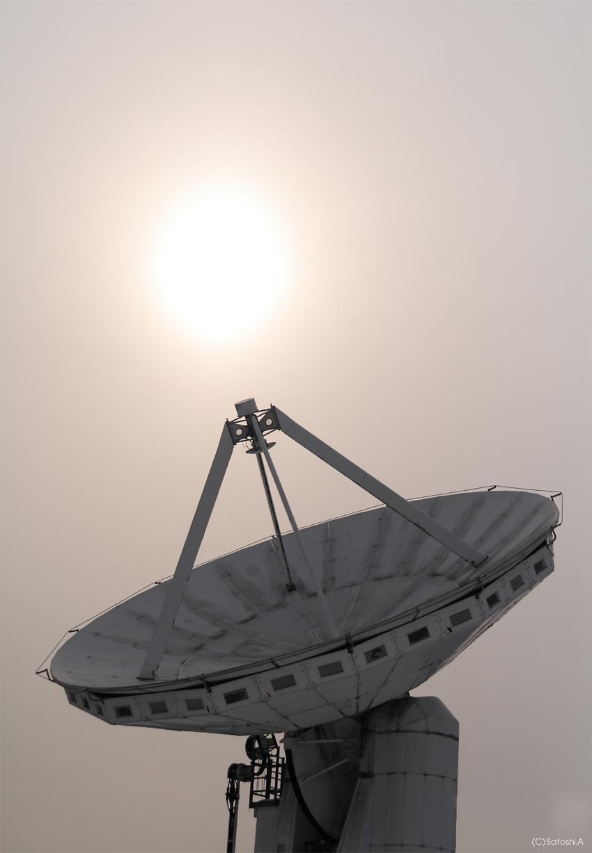 天文台の光
