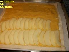 Hojaldre de manzanas-fruta+