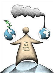 You've Got a Choice (Ben Heine) Tags: plants green art industry print globe technology hole earth air transport cartoon science goods storage gas growth health future hopes electricity globalization environment choice carbon activity coal smokes copyrights ozone development climate mothernature services debate nuclearpower consumption extraction co2 humanbeings fumes biofuels impacts nuclearenergy choix oxygene millenniumgoals sustainableenergy benheine pollutionglobalisation renewableenergynergie jagdishpngiri infotheartisterycom