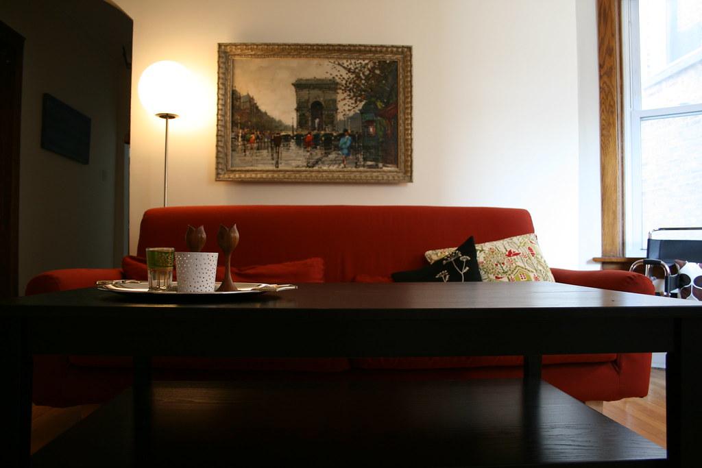 Porcelain's living room