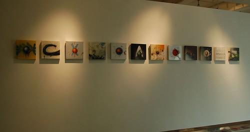 provisorische Hängung/Ausstellung Shenzhen/china
