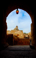 Aleppo Citadel - Entrance (..friend_faraway..) Tags: travel history architecture fort citadel islam middleeast arab syria oldcity aleppo islamichistory aleppocitadel fottress