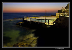 Dawn over Coogee Beach (kbeld) Tags: morning sea sunrise dawn sydney australia rockpool coogeebeach southernbeaches