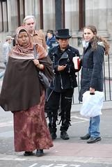 Inmigrantes en Londres
